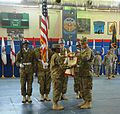 402nd AFSB cases colors, prepares for mission to support U.S. Army Pacific Command 150729-A-DU199-001.jpg