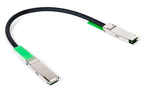 Optical module - Image: 40Gb QSFP+ copper twinax cable