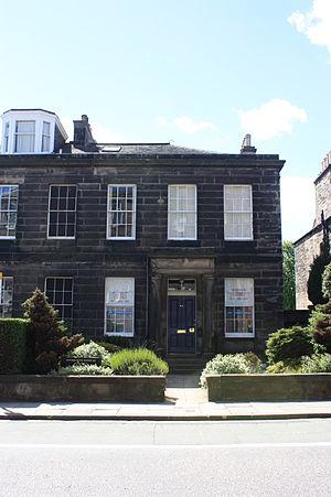 James Pillans - Pillans home at 43 Inverleith Row, Edinburgh