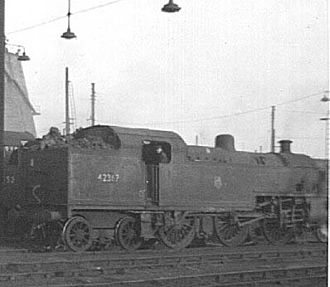 LMS Fowler 2-6-4T - 42367 at Willesden