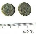 46. Copper alloy barbarous radiate copying Claudius II, commemorative issue, c.275-85 AD (FindID 251791).jpg