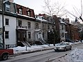 5 Houses near McGill University, Montreal,Quebec 2009.jpg