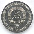 5 Mark DDR 1981 - 450. Todestag von Tilman Riemenschneider - Wertseite.JPG