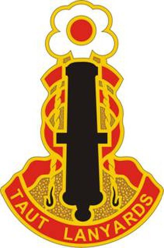 75th Field Artillery Brigade (United States) - Image: 75 Fires Bde DUI