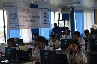 7th Waray Wikipedia Edit-a-thon 17.JPG