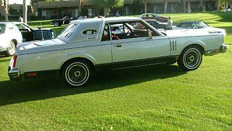 Lincoln Continental Mark VI - 1980 Continental Mark VI Signature Series