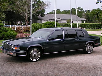Cadillac Series 70 - 1986 Fleetwood 75 (shown in Commodore Blue)