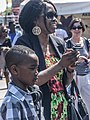 9 Year Old Rapper And His Proud Mother (He Was Excellent) (7282692892).jpg
