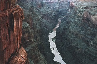 Grand Canyon National Park - From Toroweap Overlook on the North Rim