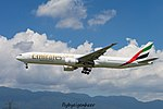 A6-ENZ Boeing B777-31H-ER B77W - UAE (28179642081).jpg