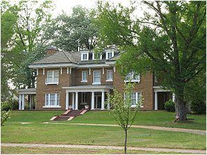 Aldridge H. Vann House - The historic Aldridge H. Vann House located in Franklinton, North Carolina.