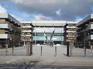 Allied Irish Banks - AIB registered office in Ballsbridge, an area of Dublin, Ireland