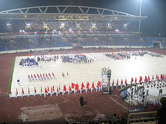 2009 Asian Indoor Games - Opening ceremony at My Dinh National Stadium