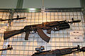 AK-103 assault rifle with GP-34 grenade launcher at Engineering Technologies 2012.jpg