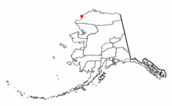 Location of Point Lay, Alaska