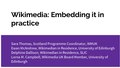 ALT Scotland Conference - Wikimedia Embedding it in practise.pdf