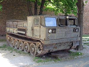 ATS-59 - Image: ATS 59G tractor