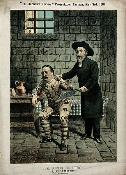 File:A clergyman visiting a journalist in prison Wellcome V0050331.jpg