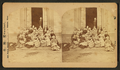 A group of students on the steps of their school, by G. K. Proctor.png