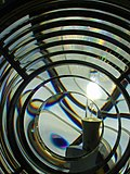 A lens at St. Catherine's Lighthouse, I.o.W. - geograph.org.uk - 22317.jpg