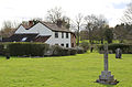 A listed cottage at Fyfield, Essex, England - Glebe Cottage, south-west from the church.jpg