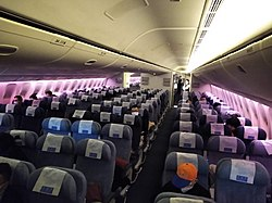 250px A nearly empty flight from PEK to LAX amid the COVID 19 pandemic 1