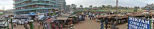 Githunguri - Image: A panorama of Githunguri town center