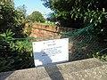 A sign warning off naughty schoolboys on Aspin Lane, Knaresborough (24th August 2019).jpg