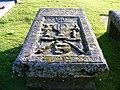 A very old Gravestone at Spynie - geograph.org.uk - 1368412.jpg