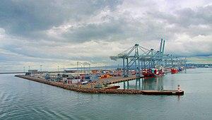 Aarhus Container port