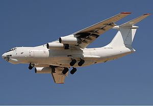 Abakan-Avia - Ilyushin IL-76T of Abakan Avia. This and other aircraft of that type are planned to be phased out.