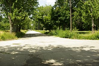 Love Canal - Abandoned streets on the west side of Love Canal