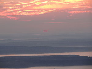Cadillac Mountain - Image: Acadia National Park 09