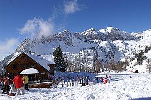 Brandenberg Alps - The Dalfazer Wände in the Rofangebirge