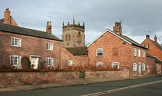 Acton, Cheshire - Image: Acton centre wiki