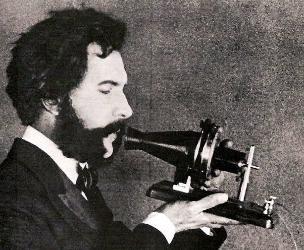 Actor portraying Alexander Graham Bell in an AT&T promotional film (1926)