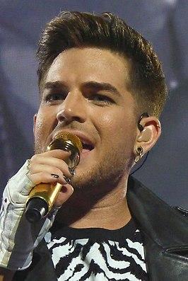 Adam Lambert in 2014