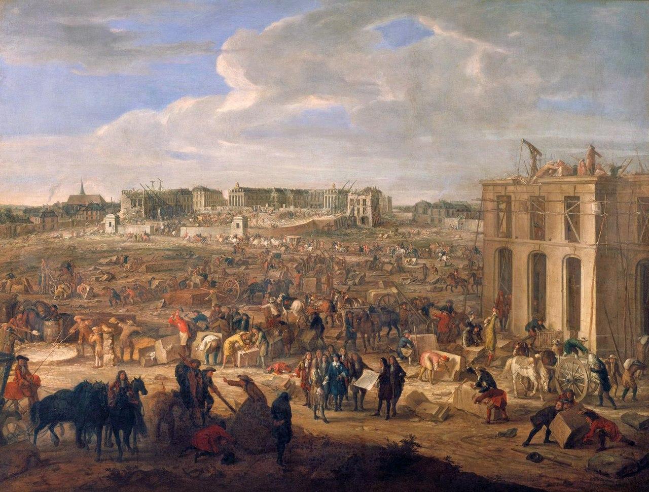 Адам Франс ван дер Меулен - Строительство Версальского дворца - WGA15115.jpg