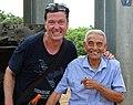 Adam Jones with Mai Van Sinh - Battle Veteran - Hill A1 (Eliane 2) - Dien Bien Phu - Vietnam (48168825947).jpg