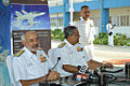 Admiral DK Joshi addressing the media at the induction of the Hawk 132.jpg