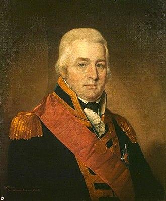Alexander Cochrane - Admiral Sir Alexander Inglis Cochrane by Robert Field