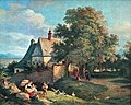 Adrian Ludwig Richter - Kostel svaté Anny u Krupky (filtered).jpg