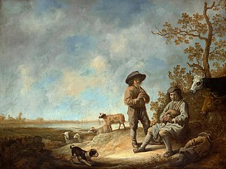 Aelbert Cuyp - Aelbert Cuyp - Piping Shepherds (Metropolitan Museum of Art)