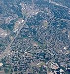 Aerial of Cedar Hills and Marlene Village from west (2018).jpg