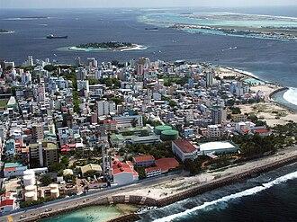 Economy of the Maldives - Malé, commercial centre of Maldives