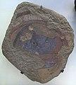 Afghanistan, testa di cinghiale, da bamiyan, grotta D, VI-VII sec. 01.JPG