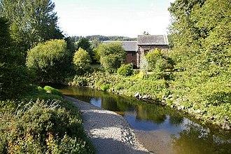 Afon Tanat - Afon Tanat near Llangedwyn