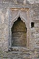 Aghaboe Priory of St. Canice South Transept East Wall Piscina 2010 09 02.jpg