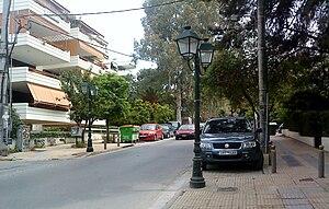Agia Paraskevi - Agiou Ioannou street.