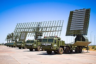 Nebo-M Russian military radar system